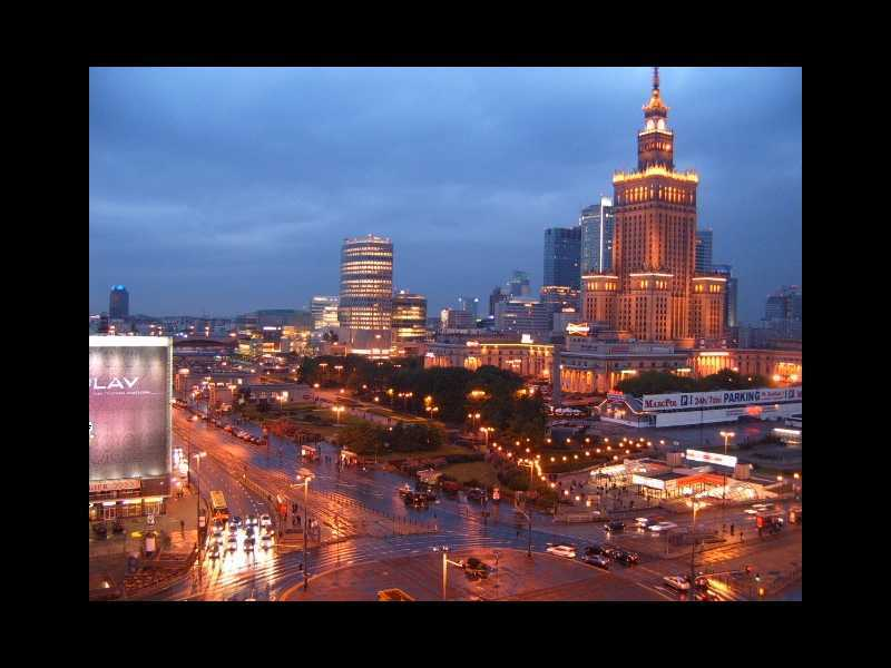 Warsaw<br> (capital, palace of culture, Chopin)